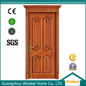 High Quality Interior Solid Wooden Door for Houses pictures & photos