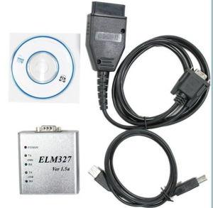 Wholesale Aluminum Elm327 V1.5 USB Autodiag Scanner pictures & photos