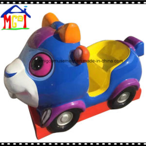 Little Blue Cow Kiddie Ride for Kids Swing Game Machine pictures & photos