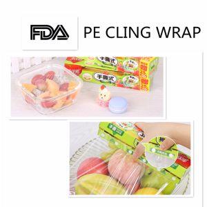 PE Film, Cling Plastic Food Film, Plastic Film on Roll pictures & photos