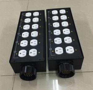 Power Switch Metal Panel Box for Us Market pictures & photos