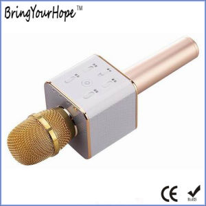 Q7 Style Hanset Karaoke Microphone Speaker for Mobile Phone (XH-PS-680) pictures & photos