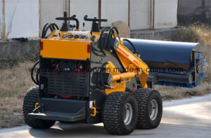China Good Quality Mini Skid Steer Loader with Auger pictures & photos