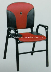 Cheap Economic PU Upholstery Chair with Arm pictures & photos