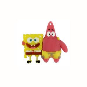 Cartoon Character Spongebob Squarepants USB Flash Drive Customized Logo 256GB pictures & photos