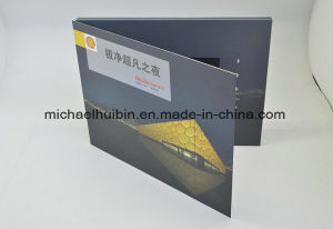 7inch LCD Screen Magnet Switch Control Video Greeting Cards (VC-070) pictures & photos