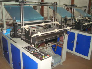High Speed Four Line Cold Cutting T-Shirt Bag Maker (SSC-1000F) pictures & photos