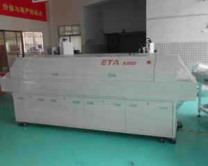 Eta Factory LED Reflow Soldering Oven Machine A800 or A600 with PLC Controller pictures & photos