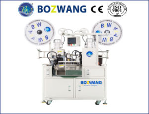 Full Automatic Double Ends Flat Cable Terminal Crimping Machine pictures & photos
