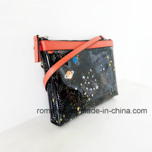 Fashion Trendy Design Women EVA Jelly Handbags with Two Pouches (NMDK-060902) pictures & photos