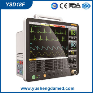 7.0 Inch Hospital ICU Multi-Parameter Patient Monitor Ysd18f pictures & photos