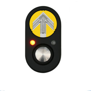 New Design Speaker Aluminum Traffic Light Pedestrian Push Button pictures & photos