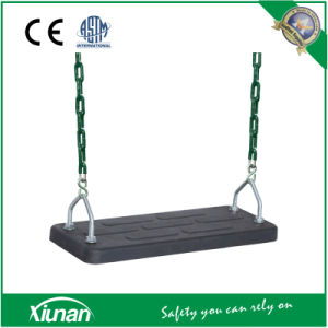 Rubber Board Flat Swing Seat with Chain pictures & photos