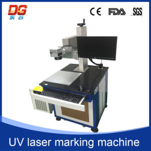China Cheap High Speed 5W UV Laser Marking CNC Machine pictures & photos