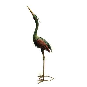 Metal Bright Colored Crane Animal Garden Decoration pictures & photos