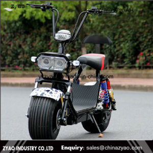 Popular Harley Bicycle Style Electric Scooter with Big Wheels, Fashion City Harley Citycoco pictures & photos
