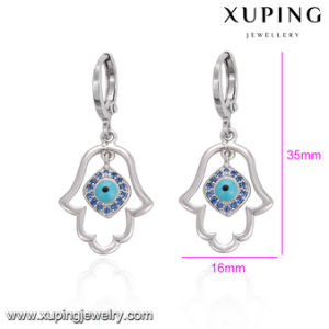 27994 Popular Fashion Rhodium Evil Eye Hand Earring Drop pictures & photos