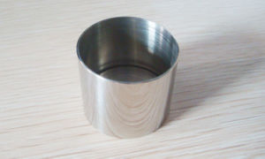Cylinder Straight Edge Metal Jigger pictures & photos
