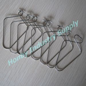 Advertisement Poster Suspender Use Shiny 80mm Hanging Metal Ceiling Squeeze Clip pictures & photos