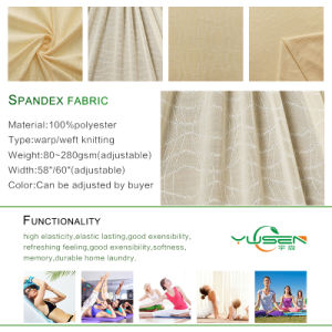90 Polyester 10 Spandex Fabric for Sportswear Wholesale Fabric China pictures & photos