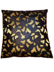 Sr-C170521-2 Filled Laser PU Decorative Cushion pictures & photos