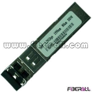 1.25gbps Fiber Optic SFP Transceiver 1550nm 80km LC Ddm pictures & photos