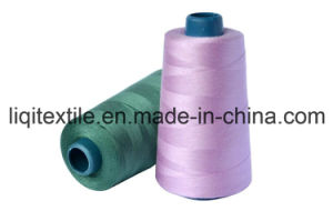 Hot Selling 100% Spun Polyester Sewing Thread 20s/3 for Garments and Bags pictures & photos