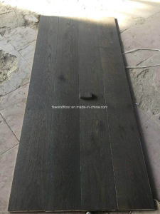 Wire Brushed European Oak Engineered Wood Flooring pictures & photos
