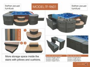 Patio Outdoor Garden Waterproof Rattan Wicker SPA Furniture Set