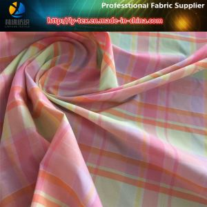 Nylon Colorful Women Yarn Dyed Shirting Check Fabric pictures & photos