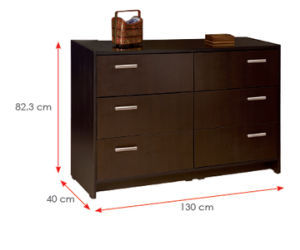 Wooden Wardrobe /Nightstands /Shoes Case /Side Cabinet (HX-DR276) pictures & photos
