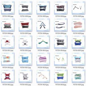 Custom 3 Colors Slide Sandal PVC Upper Slip-on Slipper Strap pictures & photos