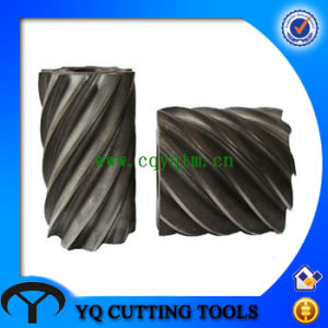 HSS Cylindrical Milling Cutter with Tialn Coating pictures & photos