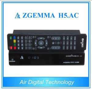 Canada America Mexico TV Decoder ATSC + Satellite Receiver DVB S/S2 Support H. 265 Zgemm H5. AC pictures & photos