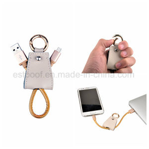 Luxury Leather Andriod USB Cable/Samsung Cable pictures & photos