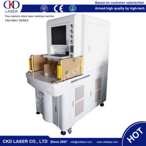 Automaticly Rotary Laser Marking Machine pictures & photos