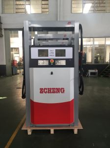 Zcheng Fuel Dispenser Tatsuno Ts Series 2 Nozzles Fuel Pump Gas Dispenser Emergenc Stop Switch LED pictures & photos