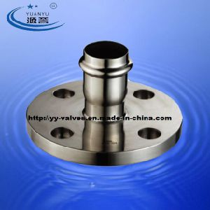 Stainless Steel Compression Flanged Fittings pictures & photos