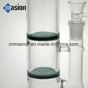 3 Layer Percolators 1 Dome Perc Glass Water Pipe (AY025) pictures & photos