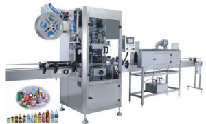 High Quality PVC Film Sleeve Labeling Machine pictures & photos