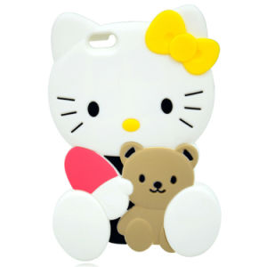 Top Fashion Soft Cell Phone Silicon Skin Cover for iPhone pictures & photos