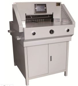 Electric Program-Control Paper Cutting Machine (520mm)) pictures & photos