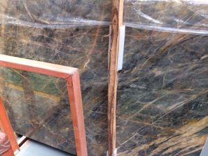 Exported Chinese Provence Gold Marble Slabs with Ce, ISO9001, SGS Approved pictures & photos