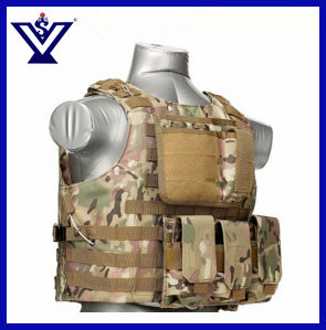 Camouflage Hunting Tactical Airsoft Combat Safety Military Vest (SYSG-201746) pictures & photos