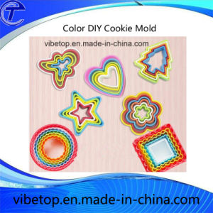 China Export Newest DIY ABS Plastic Cookie Cutters Mold pictures & photos