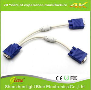 Good Qualtiy VGA / 2*VGA Female Cable pictures & photos
