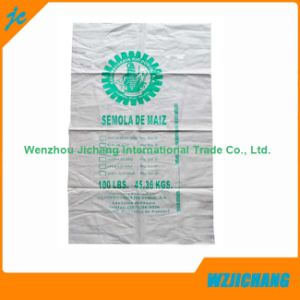 100% Pure Virgin Raw Material 25kg White Wheat Flour PP Woven Packing Bag pictures & photos