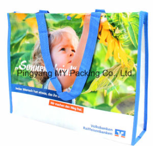 Shiny BOPP Laminated PP Non Woven Promotional Shopping Bags pictures & photos