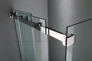 Hr-021 Double Sliding Shower Enclosure / Stainless Steel Rolling Shower Screen pictures & photos