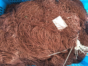 210d/9plyx100mdx100mx60mmsq Nylon Multifilament Fishing Net pictures & photos